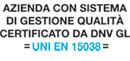 UNI 15038 DNV